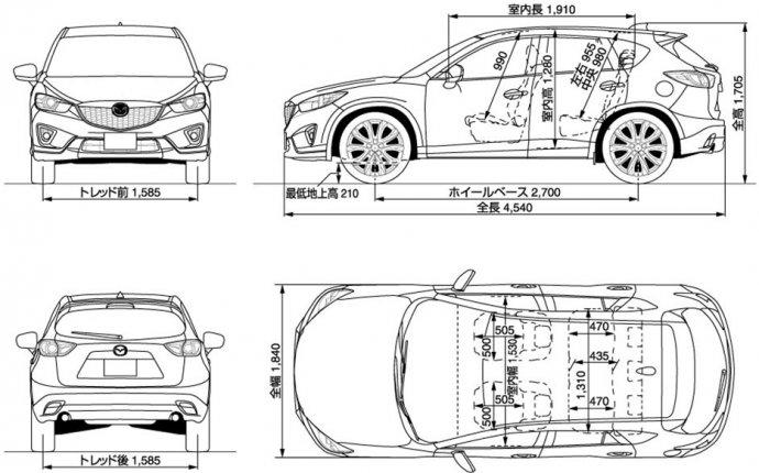 Mazda CX-5 Руководство по эксплуатации автомобиля