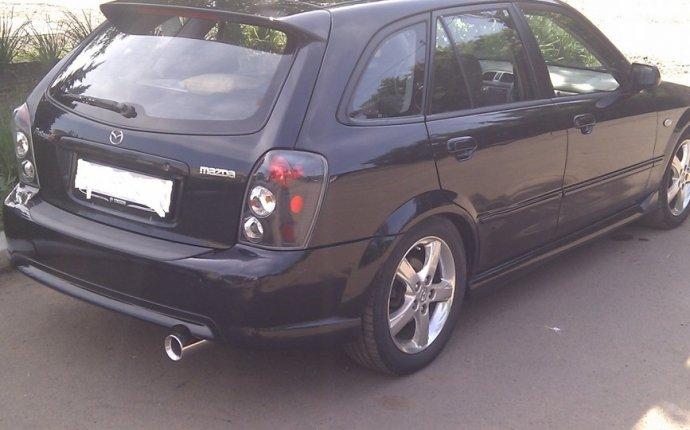 Mazda Familia Protege 5 Speed Black | DRIVE2