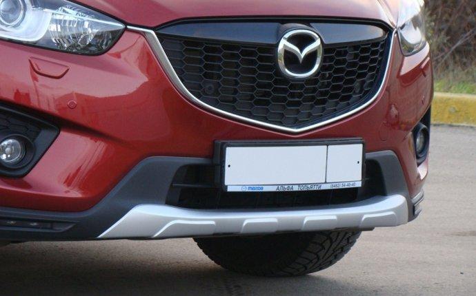 Накладка на передний и задний бампер Mazda CX-5 — TUNINGSPEED.RU