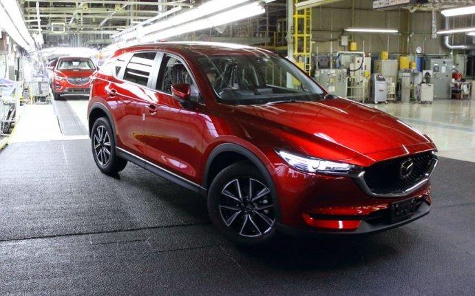 Новая Mazda CX-5 встала на конвейер в Японии — Авторевю
