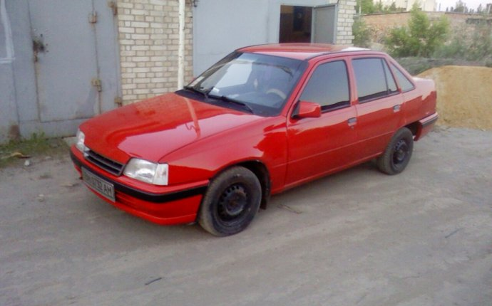 Покрасил… — бортжурнал Opel Kadett 1989 года на DRIVE2
