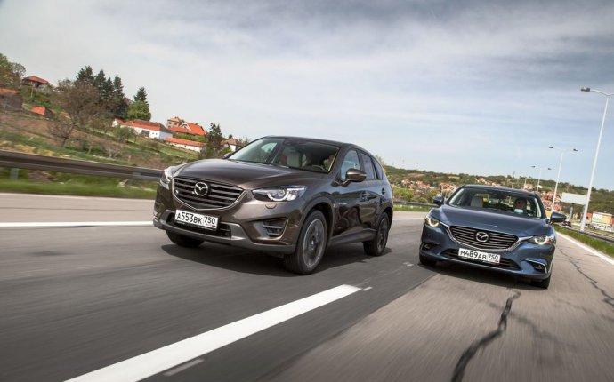 Тест-драйв обновленных Mazda6 и Mazda CX-5. Ботокс и побрякушки