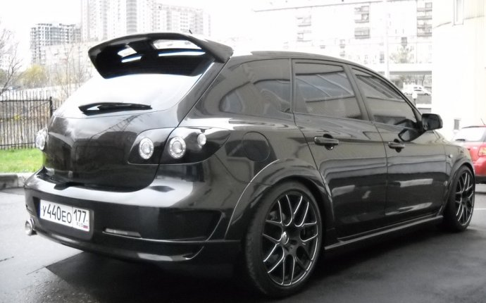 The body kit on the Mazda Mazda 3 hatchback 10.2003, Tuning — DRIVE2