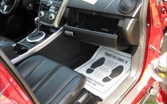 Замена фильтра салона на Mazda CX 7 - YouTube