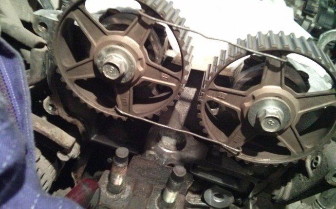 Замена ремня ГРМ и помпы Mazda 626 | двигатель Mazda 626